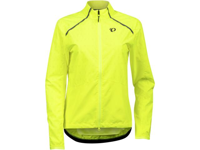 PEARL iZUMi BioViz Barrier Jacket Women, yellow/reflective triad